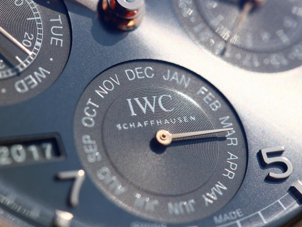 IWC ポルトギーゼ パーペチュアル カレンダー IW503404