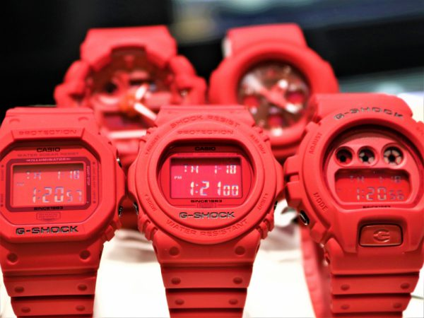 G-SHOCK35周年~第3弾モデル『RED OUT』~1月19日発売~