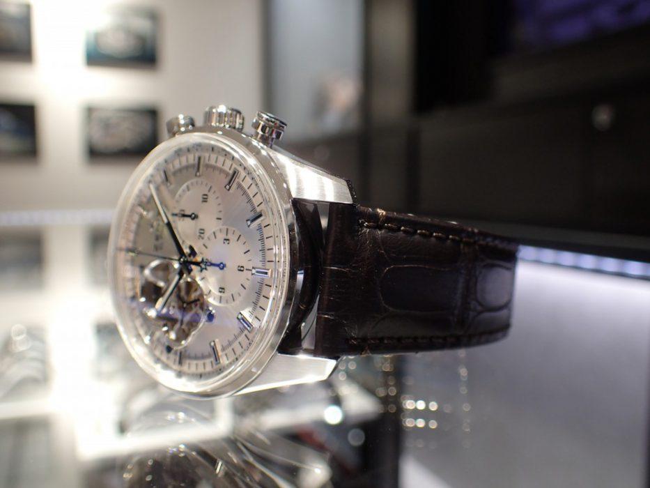 機械好きの方必見! ゼニスの名作ムーヴメントが存分に愉しめる時計