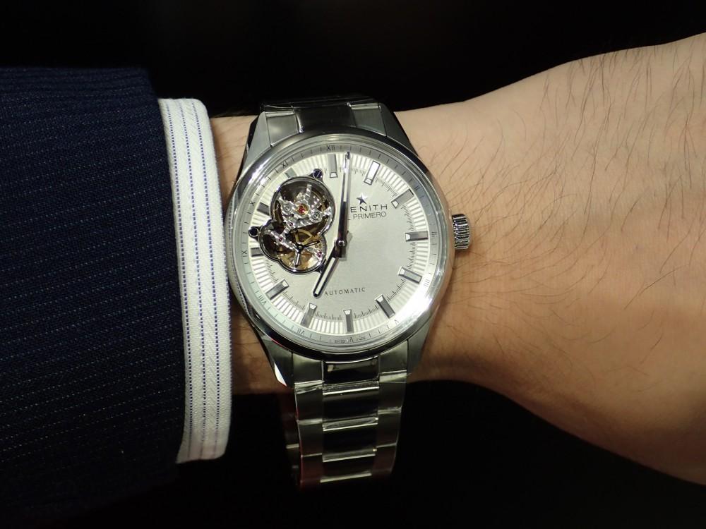 ゼニス シノプシス 人とは違うシンプルな時計をお探しの方にオススメ♪