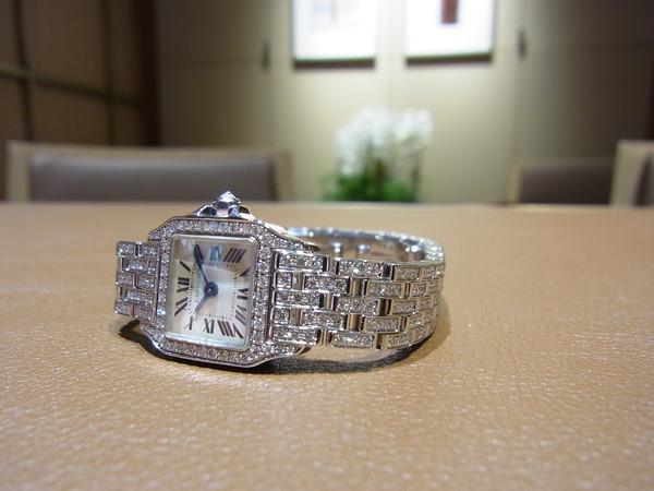 Cartier(カルティエ) 希少モデル ミニ サントス ドゥモワゼル(WF9005YA)