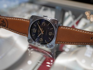Bell&Ross 2015年新作「BR S GOLDEN HERITAGE Ref.BRS92-G-HE-ST/SCA」
