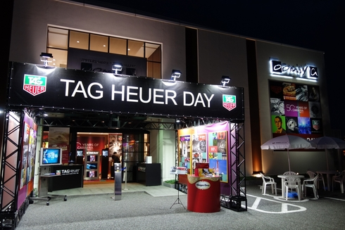 TAG Heuer DAY 3日間ありがとうございました!