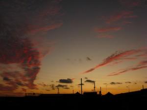 oomiya sunset