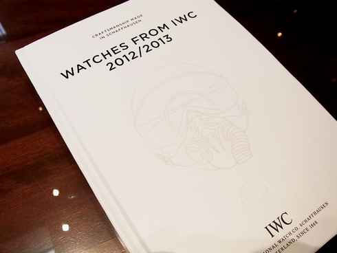 IWC・2012/2013カタログ届きました。