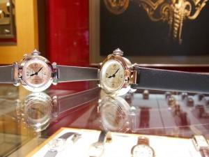 Cartier・ミスパシャストラップモデル デビュー