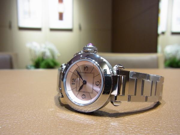 Cartier (カルティエ) 超人気モデル ミスパシャ (W3140008) &(W3140007)入荷。