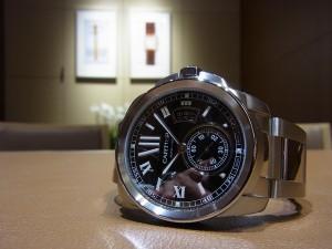 Cartier (カルティエ) カリブル ブラックダイヤル(W7100016)入荷