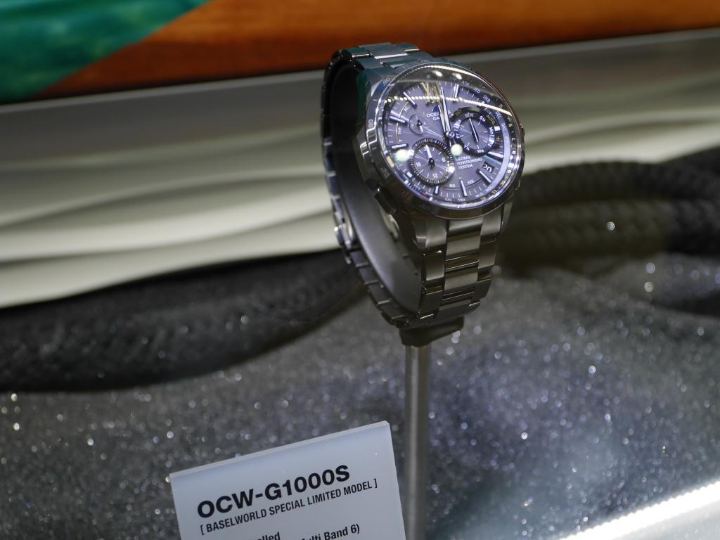 オシアナス 2015年新作「OCW-G1000S 世界限定300本」