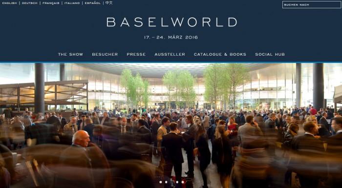 もう間もなくバーゼルワールド2016開催。。。
