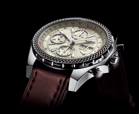 BREITLING・2016年新作!BENTLY GT MOP(ホワイト)早くも入荷!