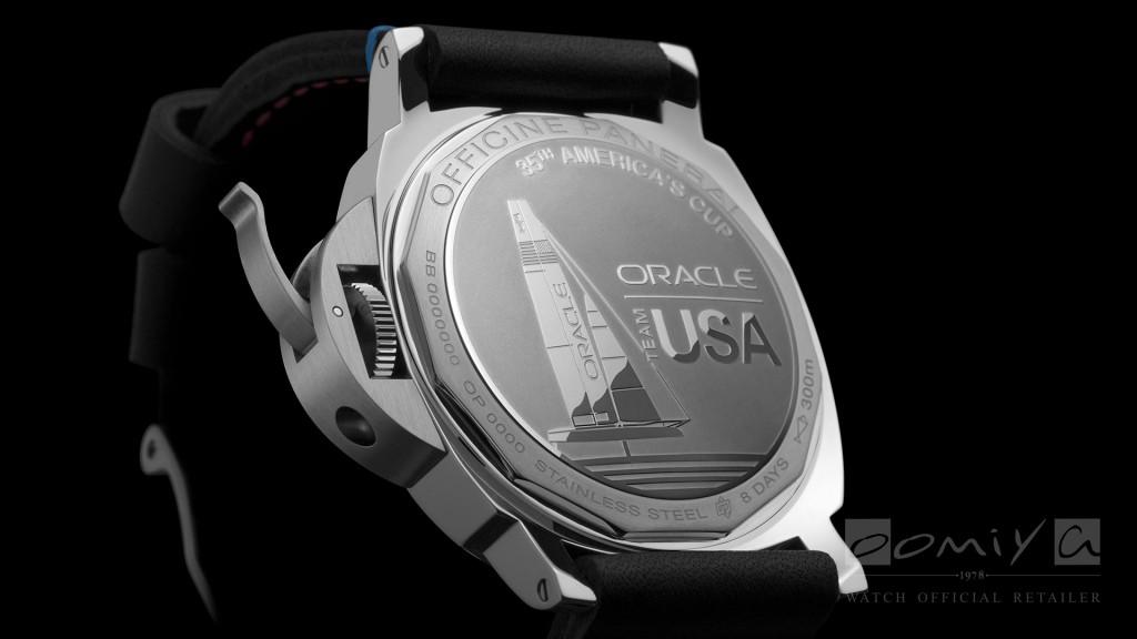 パネライ 2017年新作 PAM00724 ルミノール マリーナ オラクル チーム USA 8デイズ アッチャイオ
