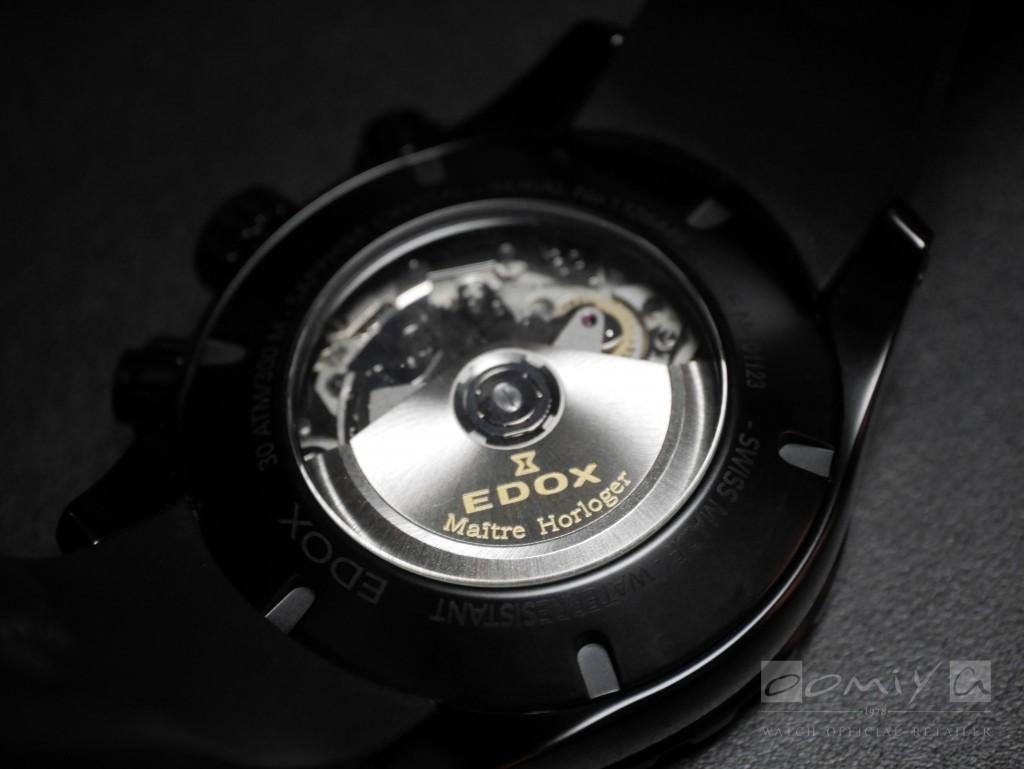 エドックス 2017年新作「グランドオーシャンクロノグラフ オートマチック10周年日本限定モデル」