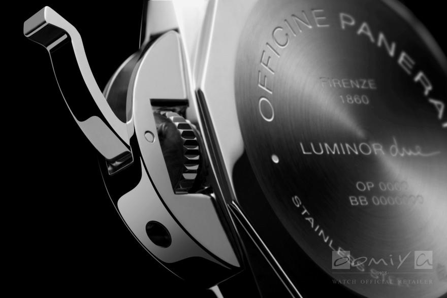 パネライ 2018年新作 ルミノール ドゥエ スリーデイズ オートマティック アッチャイオ - 42mm PAM00904