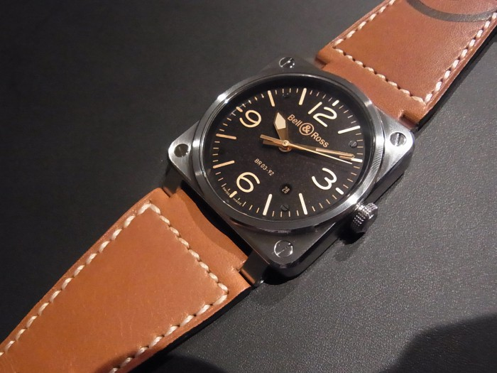 Bell&Ross 2103年新作 BR03 Golden Heritage