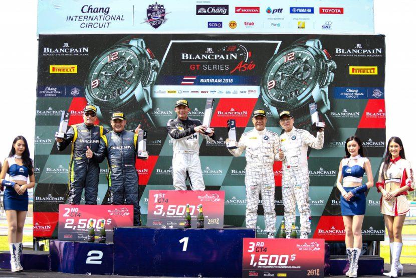 ブランパン GTシリーズ アジア Rd.4 チャーン BMW Team Studie