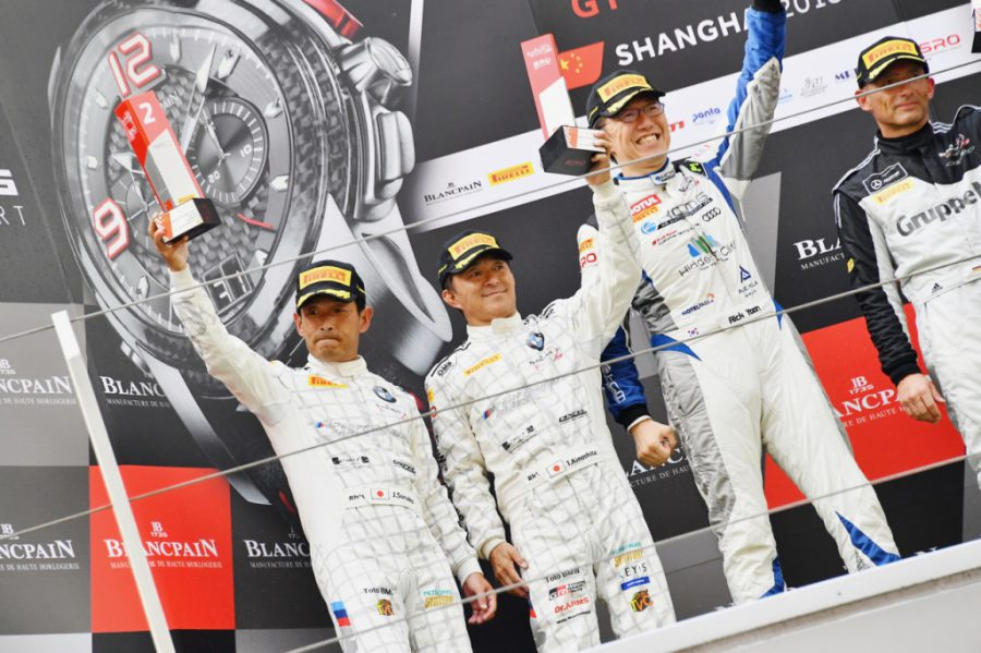 ブランパン GT シリーズ アジア Rd.9 上海インターナショナル・サーキット|BMW Team Studie