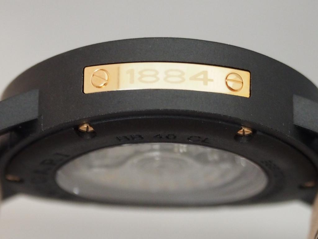 ブルガリ130周年記念モデル~ブルガリ・ブルガリ カーボンゴールド~-BVLGARI -P1261520