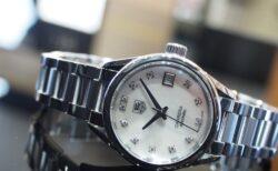 小さめで女性らしい機械式時計をお探しの方に!タグ・ホイヤー「カレラ レディ ダイヤモンド」