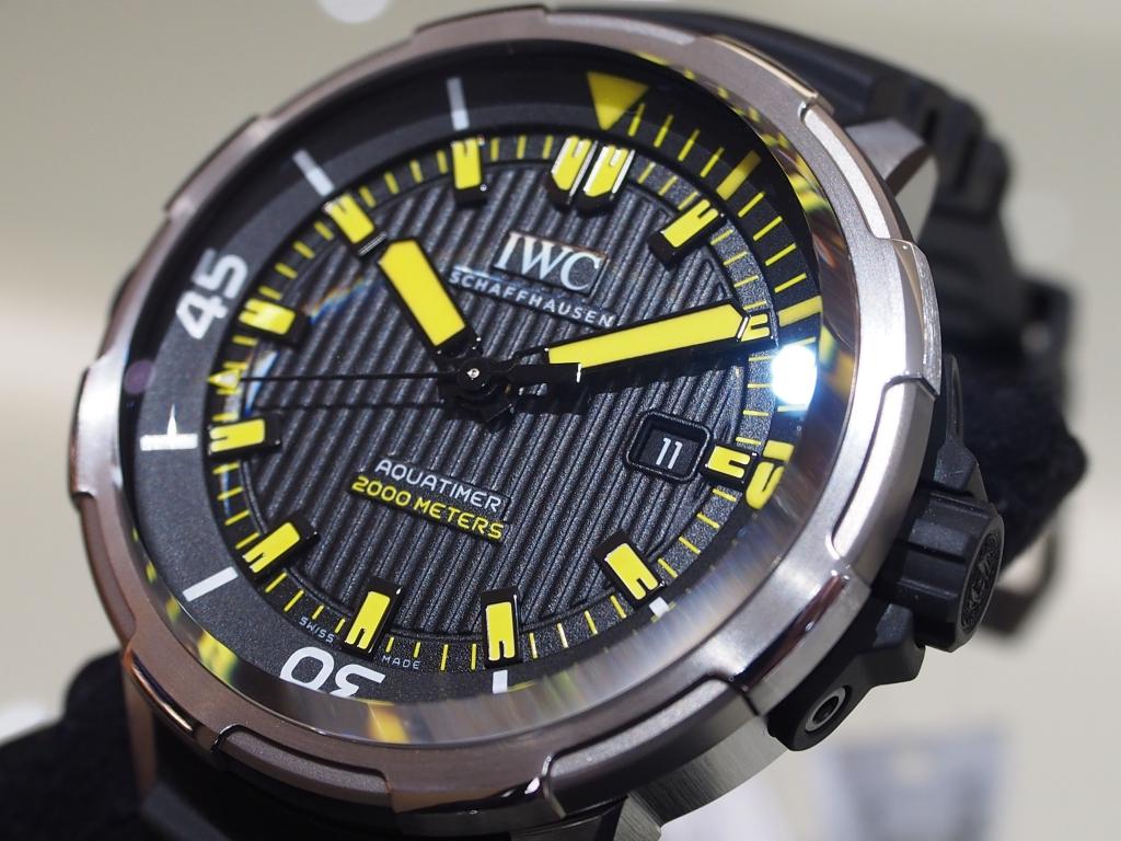 IWCより新作入荷致しました!「アクアタイマー・オートマティック 2000」-IWC -PB171126