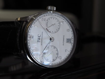 デザイン、実用性、文句無し。IWCが生んだ傑作モデル「ポルトギーゼ・オートマティック」(IW500712)