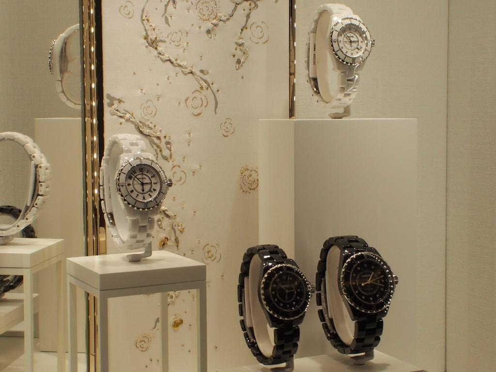 CHANEL コーナー模様替え!! 今回の推し時計は2017年新作モデル 「ボーイフレンド ツイード」-CHANEL スタッフのつぶやき -P5057463