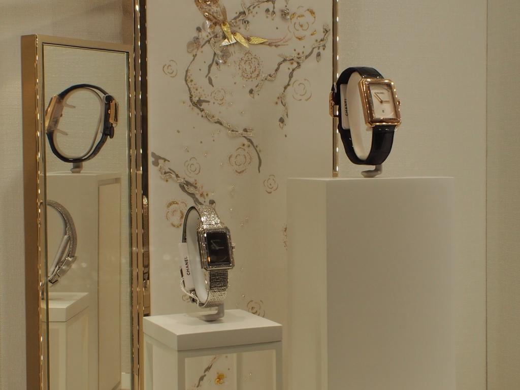 CHANEL コーナー模様替え!! 今回の推し時計は2017年新作モデル 「ボーイフレンド ツイード」-CHANEL スタッフのつぶやき -P5057464