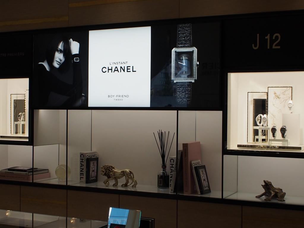 CHANEL コーナー模様替え!! 今回の推し時計は2017年新作モデル 「ボーイフレンド ツイード」-CHANEL スタッフのつぶやき -P5057467