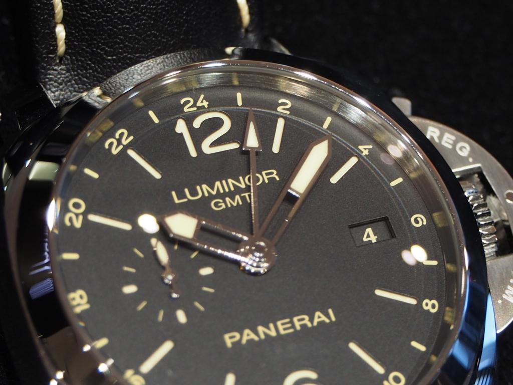 人気モデル入荷しています!パネライ「ルミノール 1950 3デイズ GMT 24H オートマティック」(PAM00531)