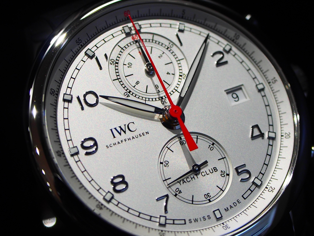 鹿児島店スタッフ、内田のイチオシ時計はコレです!!IWC「ポルトギーゼ・ヨットクラブ・クロノグラフ」-IWC スタッフのつぶやき -P9058919