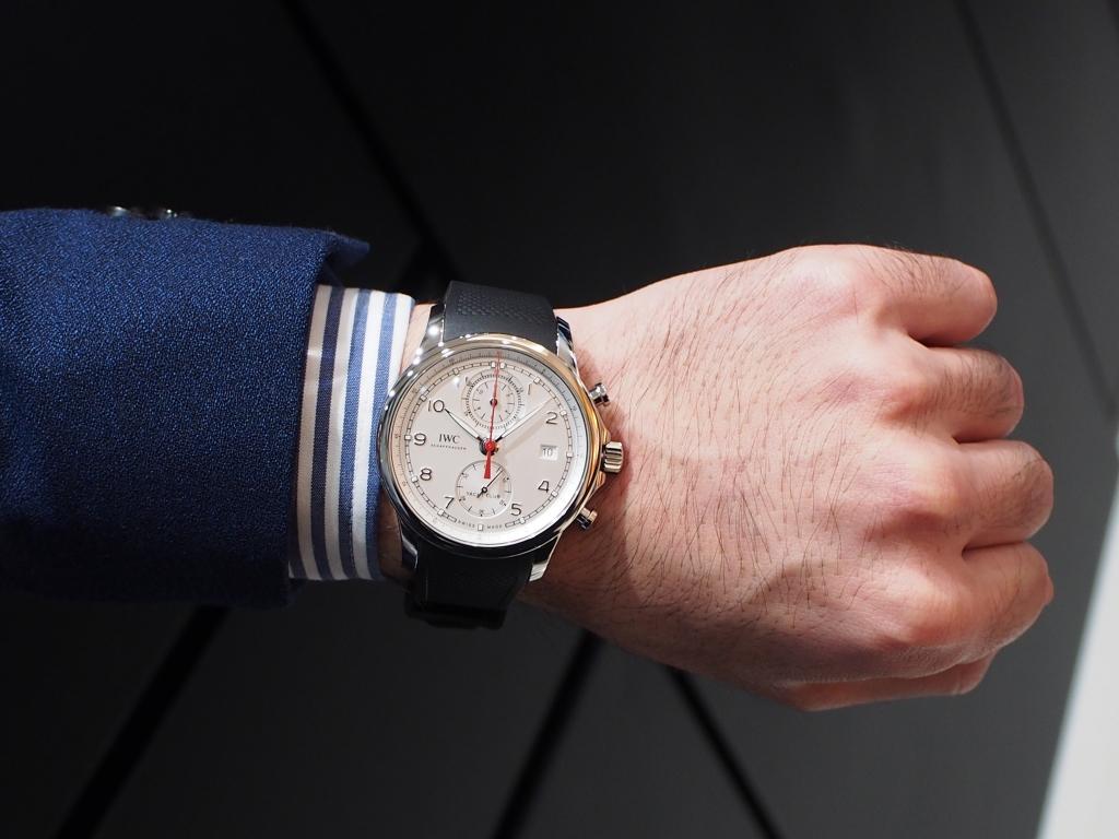 鹿児島店スタッフ、内田のイチオシ時計はコレです!!IWC「ポルトギーゼ・ヨットクラブ・クロノグラフ」-IWC スタッフのつぶやき -P9058936
