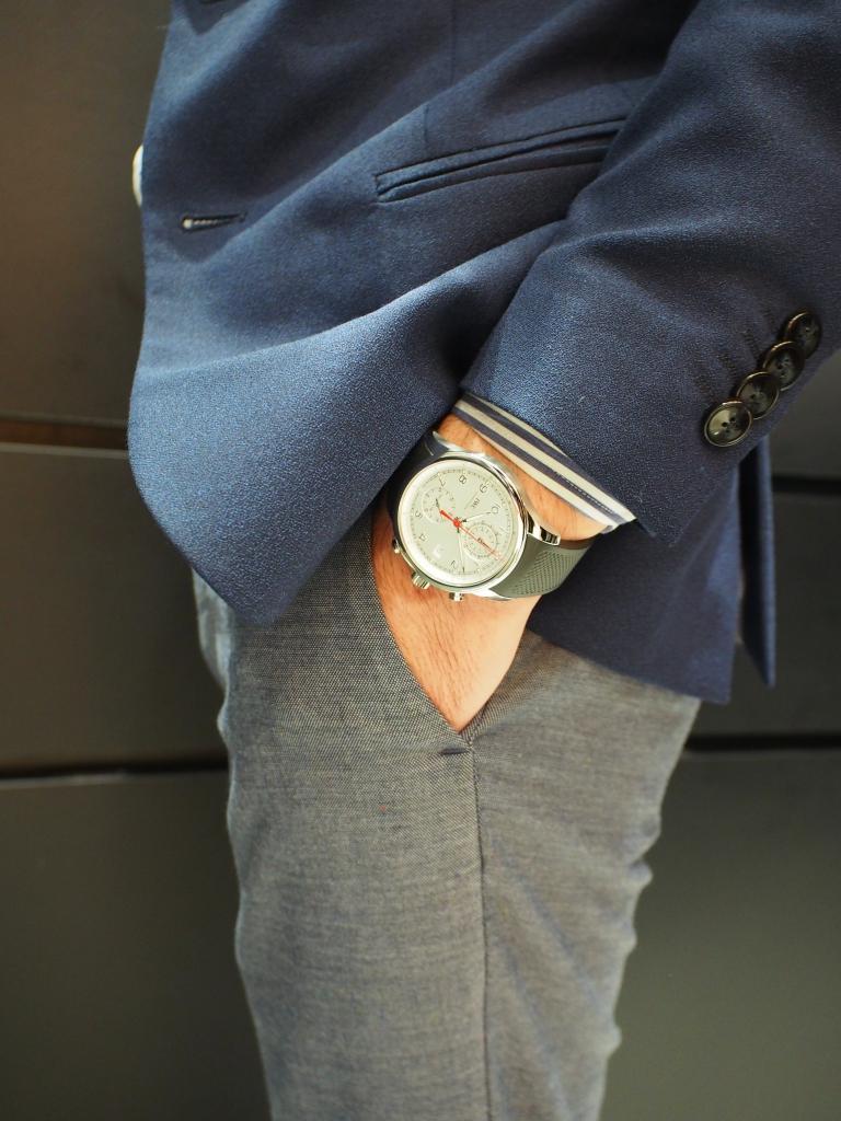 鹿児島店スタッフ、内田のイチオシ時計はコレです!!IWC「ポルトギーゼ・ヨットクラブ・クロノグラフ」-IWC スタッフのつぶやき -P9058940