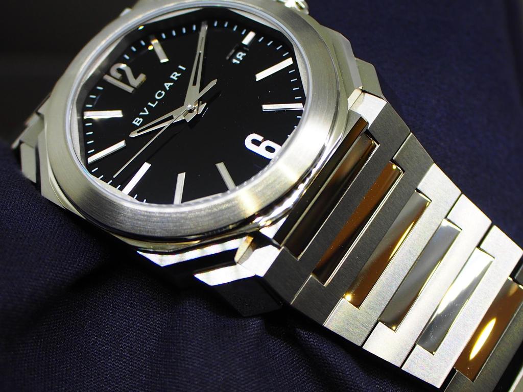 timeless design 749aa d6025 男らしく、腕元をさり気なく主張できます!ブルガリ「オクト ...