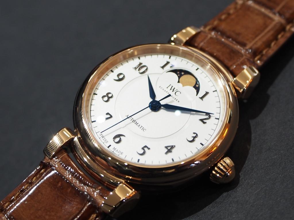 憧れの金時計もウィンターフェアで現実的に!?12月30日まで!!IWC「ダ・ヴィンチ・オートマティック・ムーンフェイズ 36」