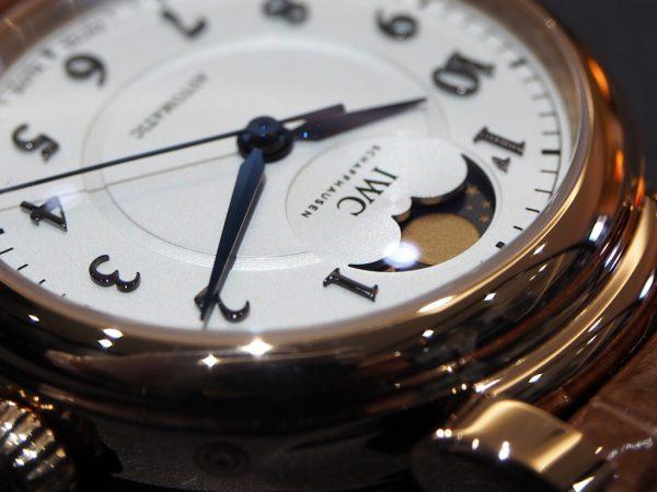 憧れの金時計もウィンターフェアで現実的に!?12月30日まで!!IWC「ダ・ヴィンチ・オートマティック・ムーンフェイズ 36」-IWC フェア・イベント情報 -PA260343-600x450