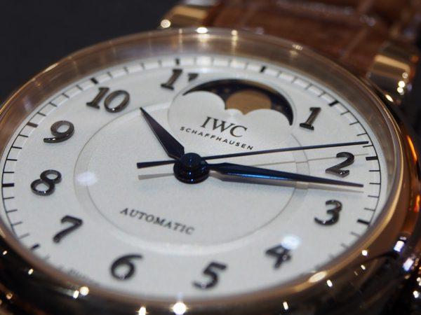憧れの金時計もウィンターフェアで現実的に!?12月30日まで!!IWC「ダ・ヴィンチ・オートマティック・ムーンフェイズ 36」-IWC フェア・イベント情報 -PA260346-600x450