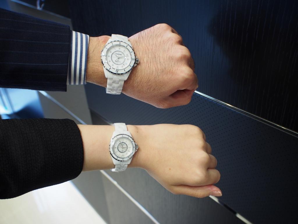 low priced ce5a8 5095f 白い時計をお探しならシャネルがおすすめです!「J12 ...