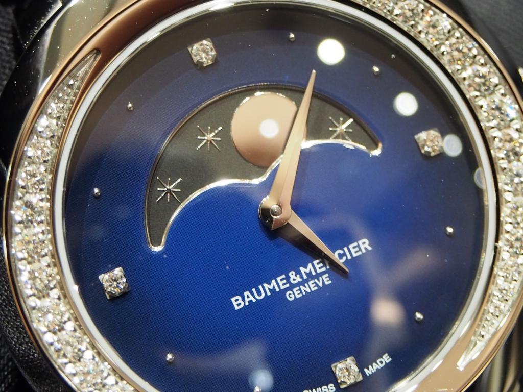思わず見とれてしまう女性心くすぐられる時計です!「プロメス ムーンフェイズ」
