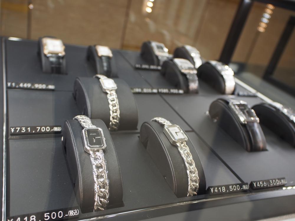 <告知>2018年2月1日(木)よりシャネルの時計が価格改定行います!!!-CHANEL 鹿児島店からのお知らせ スタッフのつぶやき -P1181307