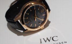 IWCより18Kレッドゴールドが気品漂う「インジュニア・オートマティック IW357003」