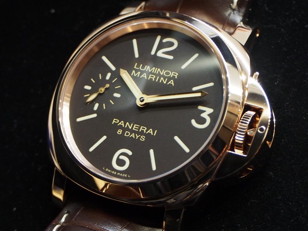 希少性の高い金無垢モデル!パネライ「PAM00511」