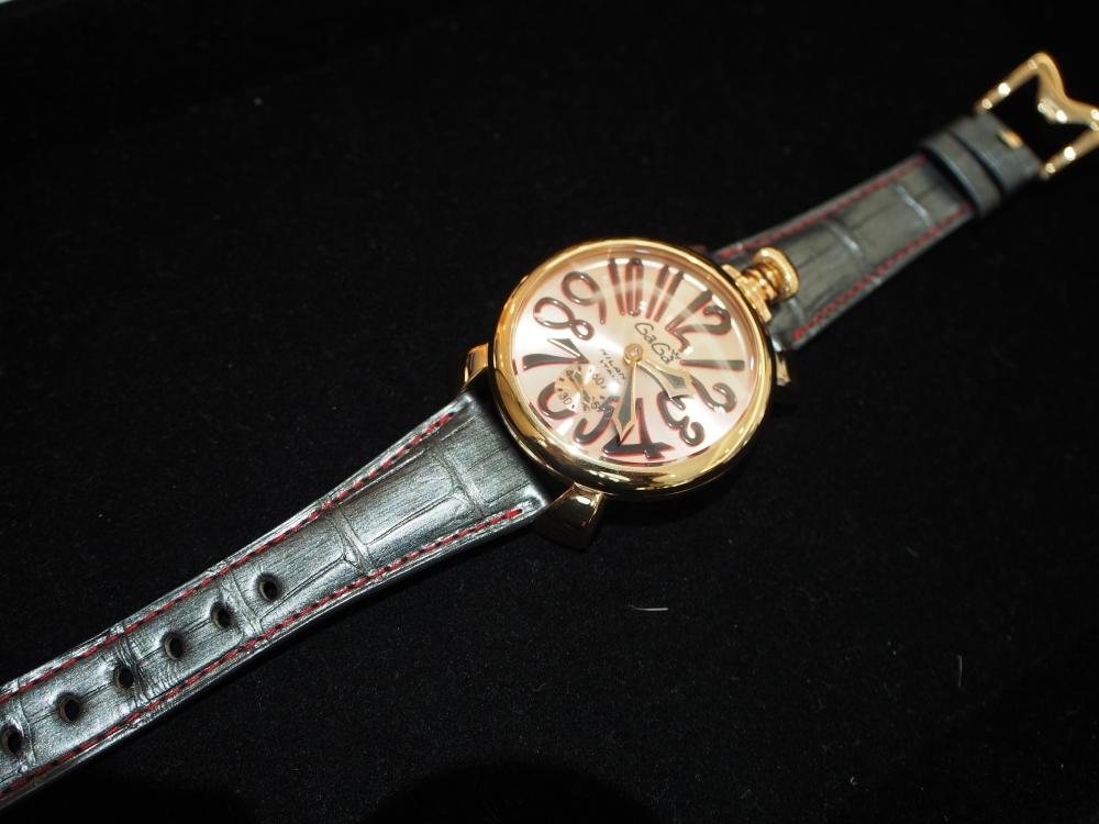 お持ちの時計でもベルトをお作り出来ます!! オーダーメイドストラップ、『ジャン・ルソー』-Jean Rousseau スタッフのつぶやき -P2120347