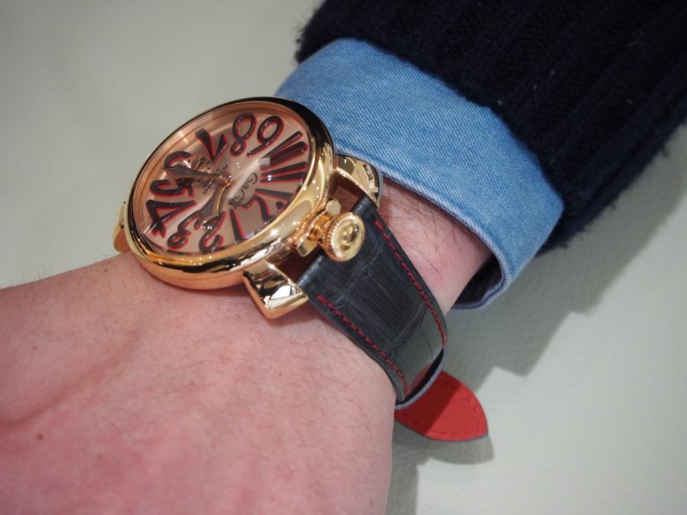 お持ちの時計でもベルトをお作り出来ます!! オーダーメイドストラップ、『ジャン・ルソー』-Jean Rousseau スタッフのつぶやき -P2120371