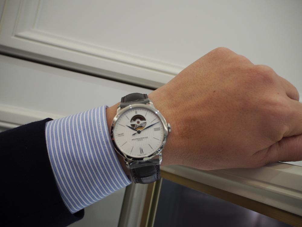 シンプル時計好き必見!!シンプルウォッチの人気モデル特集!!-BVLGARI IWC TAG Heuer BAUME&MERCIER(取扱い終了) スタッフのつぶやき -P3120362