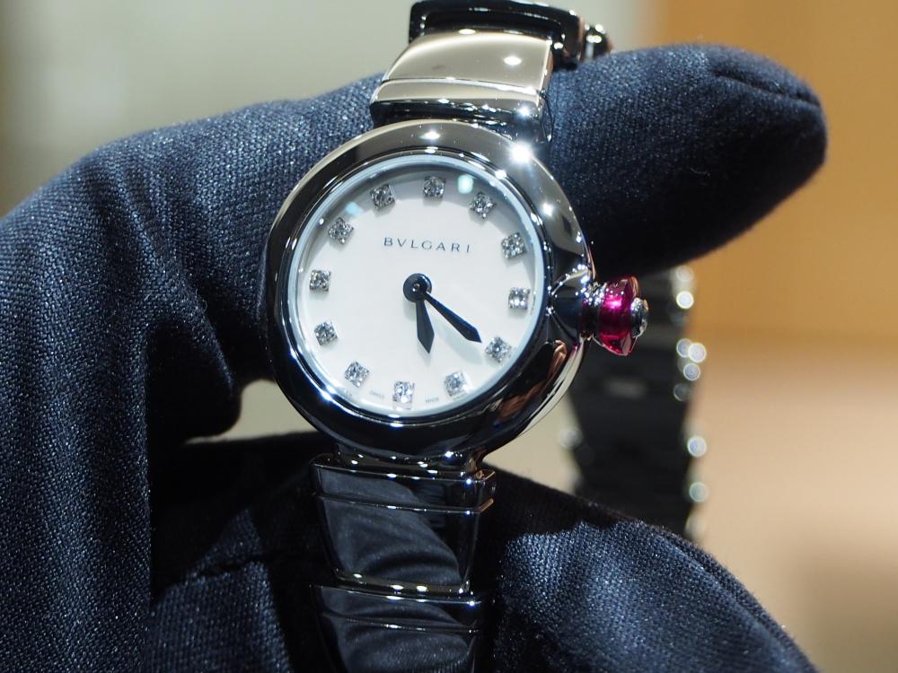 時計ひとつで普段の生活から気分が上がる!ブルガリ「ピッコラ ルチェア」女性に