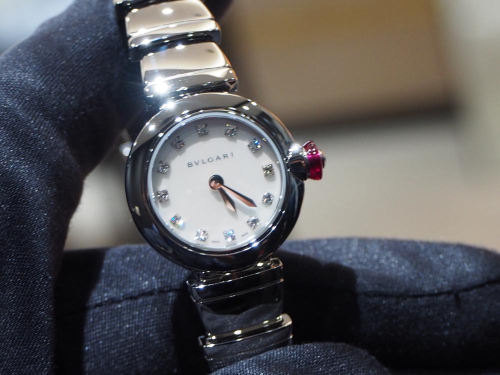 時計ひとつで普段の生活から気分が上がる!ブルガリ「ピッコラ ルチェア」女性に-BVLGARI -P3220621