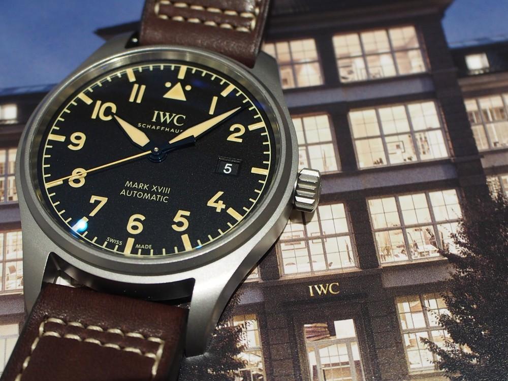 【IWCフェア開催中】時計に渋カッコよさを求めるなら、IWC「パイロット・ウォッチ・マークXVIII ヘリテージ」