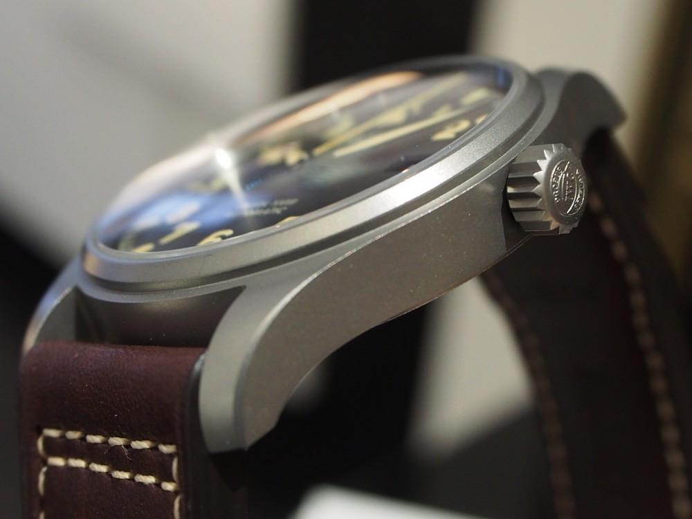 【IWCフェア開催中】時計に渋カッコよさを求めるなら、IWC「パイロット・ウォッチ・マークXVIII ヘリテージ」-スタッフのつぶやき -P4030869
