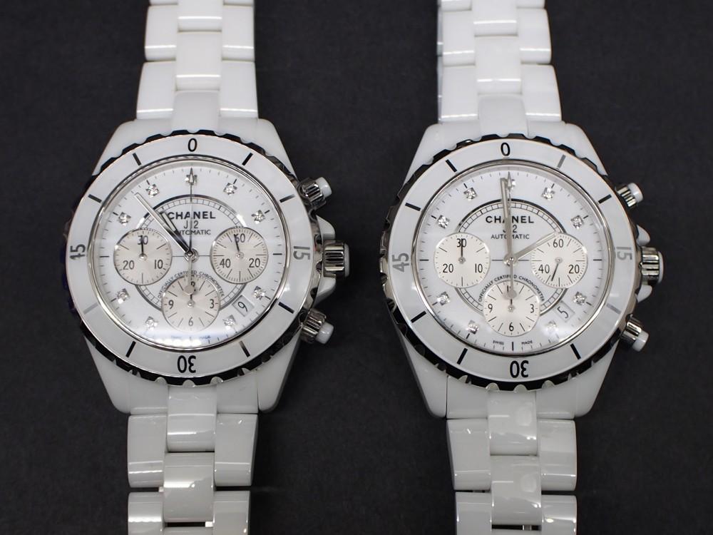劣化を感じさせない時計!?!?本当かどうか実際に徹底比較!!!シャネル「J12 クロノグラフ」