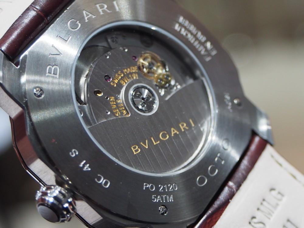 イタリアの名門ブルガリの意欲作『オクト ローマ』人気モデル-BVLGARI -P5060156